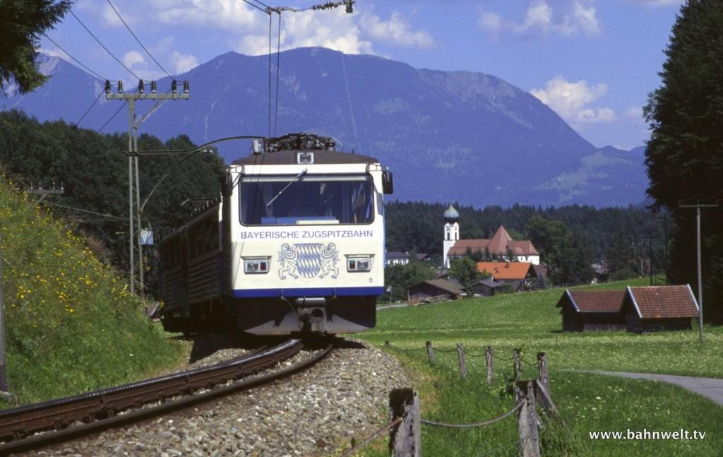 Bayer. Zugspitzbahn