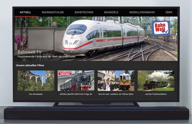 Bahnwelt TV-App auf Fire TV